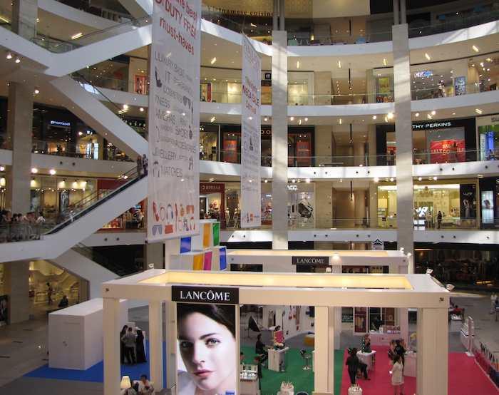 Inside Johor Bahru City Square