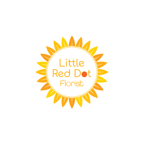 Little Red Dot Florist Logo