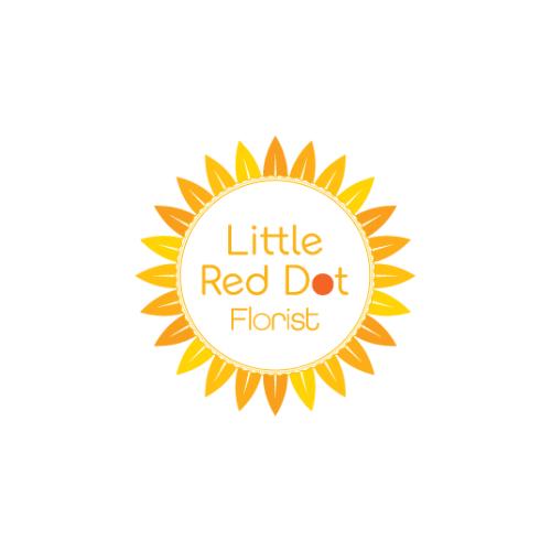 Little Red Dot Florist Logo